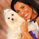 sheila carvalho e seu cachorro maltes