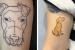 tatuagem-de-cachorro-delicada-americano
